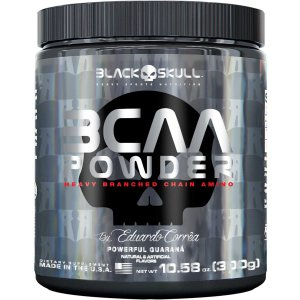 BCAA Powder 300g - Black Skull by Eduardo Corrêa