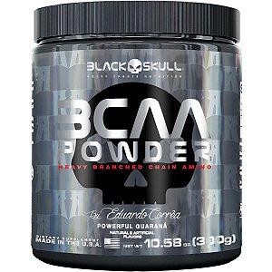 BCAA Powder 300g - Black Skull by Eduardo Corrêa