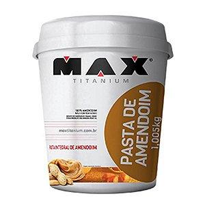 Pasta De Amendoim Integral 1,005kg - Max Titanium