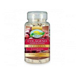 Colágeno Hidrolisado com Cranberry c/180 Pastilhas - Nutri Gold