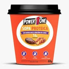 Sopa proteica 60g Sabor Carne - Power1One