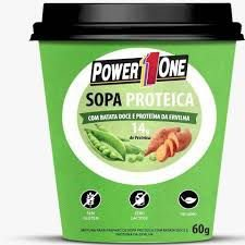 Sopa proteica 60g Sabor Ervilha - Power1One