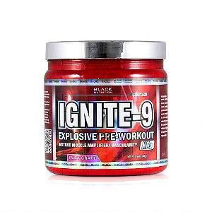 Ignite-9 Explosive Pre-Treino 300g Black Nutrition Sabor Uva Seu Treino Com Mais Força