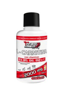 L-Carnitina 2000mg 500ml - New Millen