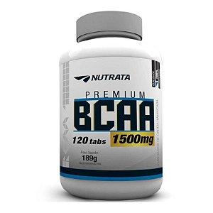 BCAA 1500mg c/120 Tablets - Nutrata