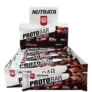 Barra proteina Protobar caxa c/8 unidades - Nutrata
