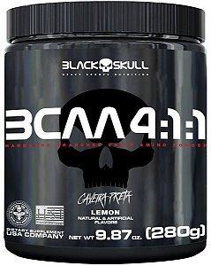 Bcaa 4:1:1 Caveira Preta 280g - Black Skull