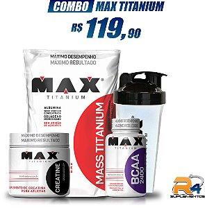 Combo Ganho Peso e Massa Muscular - Max Titanium