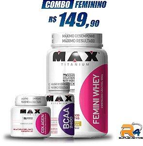 Combo Definiçao Feminino – Max Titanium