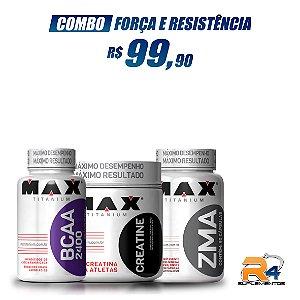 Combo Força e Resistencia - Max Titanium