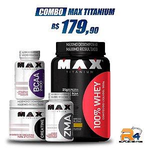 Combo Massa Muscular - MAX TITANIUM