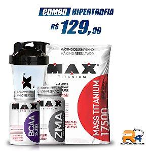 Combo Hipertrofia e Ganho Peso - Max Titanium