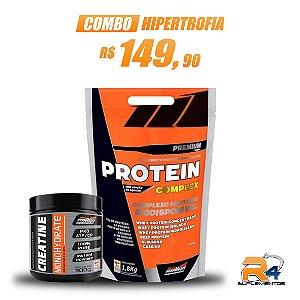 Combo Hipertrofia Protein Complex 1,8kg + Creatine 300g – New Millen