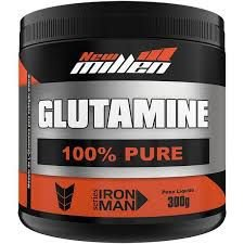 L-Glutamina 100% Pure 300g - New Millen