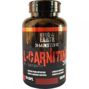 L-Carnitine  500mg 120 Caps - Rei Terra