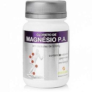 Cloreto De Magnesio 500mg c/60 Cápsulas - Meissen
