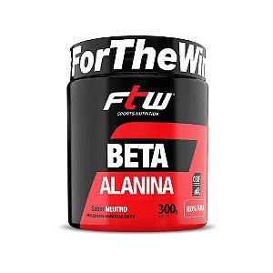 Beta Alanina Pura 300g FTW Sabor Neutro São 150 Doses por Pote