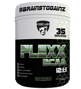 Flexx Bcaa 12.1.1 com 350g Under Labz São 8,2g de Aminoácidos por Dose