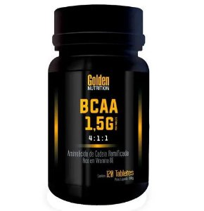 BCAA 1,5g (120 caps) - Golden Nutrition