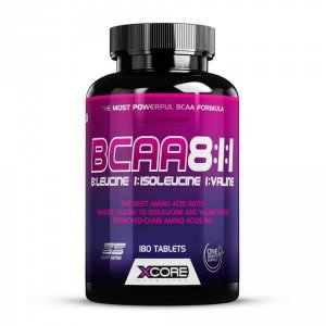 BCAA 8:1:1 (180 caps) - Xcore Nutrition