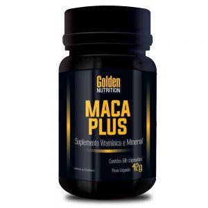 Maca Plus (60 Caps) - Golden Nutrition