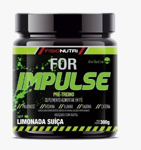 Pre Treino For Impulse (300g) - Fisionutri