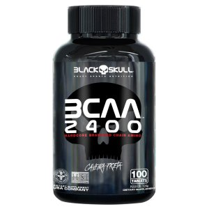 Bcaa 2400 c/100 Tablets - Black Skull