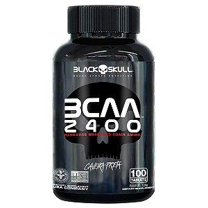 Bcaa 2400 c/100 Tablets - Black Skull