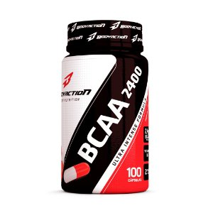 BCAA 2400 Ultra Intense c/100 Cápsulas - Body Action