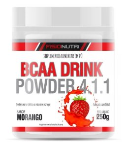 Bcaa Drink Power 4.1.1 250g - Fisionutri