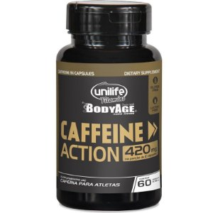 Cafeina Caffeine Action 700mg (120 Cápsulas) - Unilife