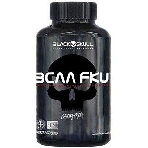 BCAA FKU Caveira Preta (240 Tabs) - Black Skull
