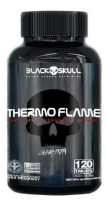 Termogênico Thermo Flame (120 Tabletes) - Black Skull