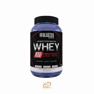 100% Whey Concentrado 900g - Bluster Nutrition