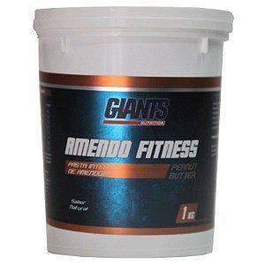 Pasta de Amendoim Amendo Fitness 1kg - Giants Nutrition