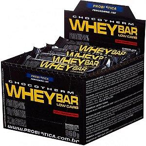 Whey Bar 40g Caixa c/24 unidades - Probiótica
