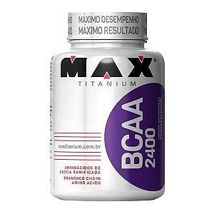BCAA 2400 c/200 Cápsulas - Max Titanium