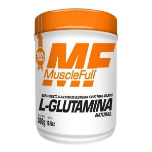 L- Glutamina Natural 300g - MuscleFull