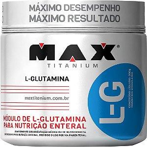 L-G Glutamine 300g - Max Titanium