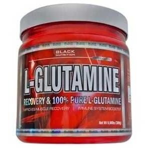 L- Glutamina 300g - Black Nutrition