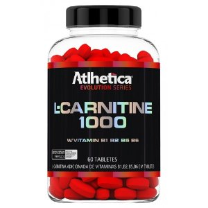 L-Carnitine 1000 c/60 Tabletes – Atlhetica Nutrition