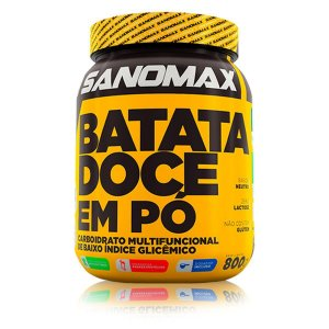 Batata Doce em pó 800g – Sanomax