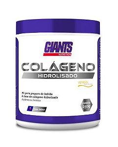 COLAGENO HIDROLIZADO VERISOL NATURAL COM 250G GIANTS NUTRITION PELE, CABELOS, UNHAS