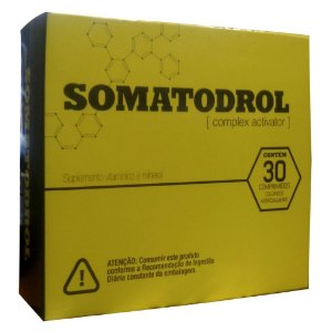 Somatodrol c/30 Comprimidos – Iridium Labs