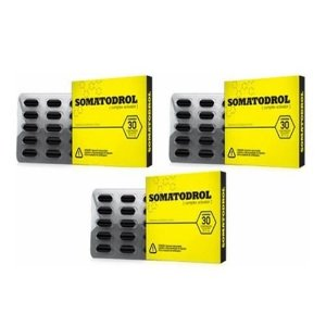 Somatodrol 3 Unidades – Iridium Labs