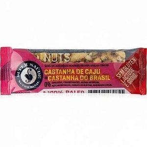 Barra Nuts Castanha de Caju e castanha do Brasil 25g - Super Saúde