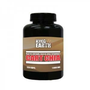 Cart Chia 1000mg c/120 Cápsulas - Rei Terra