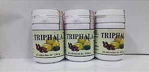 Triphala Combo com 10 potes de 30 caps cada - Emagrecedor e Laxante Natural