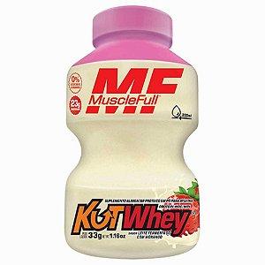 Kutwhey 900g Muscle Full - Leite Fermentado com Morango