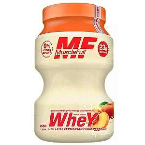 Kutwhey 900g Muscle Full - Leite Fermentado com Pêssego
